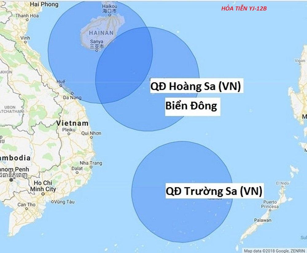 Hoả tiễn Trung Cộng đặt ở Trường Sa có tầm bắn tới Nha Trang