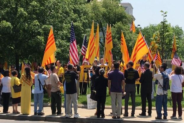 """Người Việt khắp Bắc Mỹ về Washington tham dự """"Ngày Nhân Quyền Cho Việt Nam"""""""