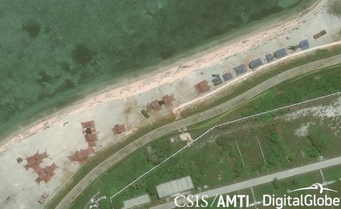 Trung Cộng đưa thêm vũ khí tới đảo Phú Lâm