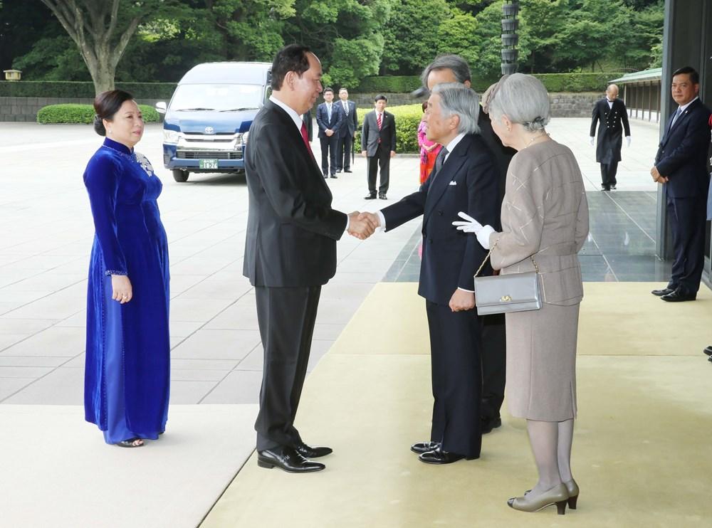 Trần Đại Quang thăm 'đáp lễ' Nhật Hoàng