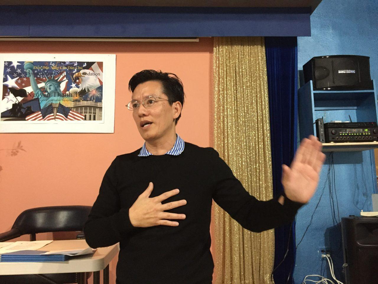 Ông Nguyễn Thanh Tú thỏa thuận chấm dứt mạo danh đảng Việt Tân
