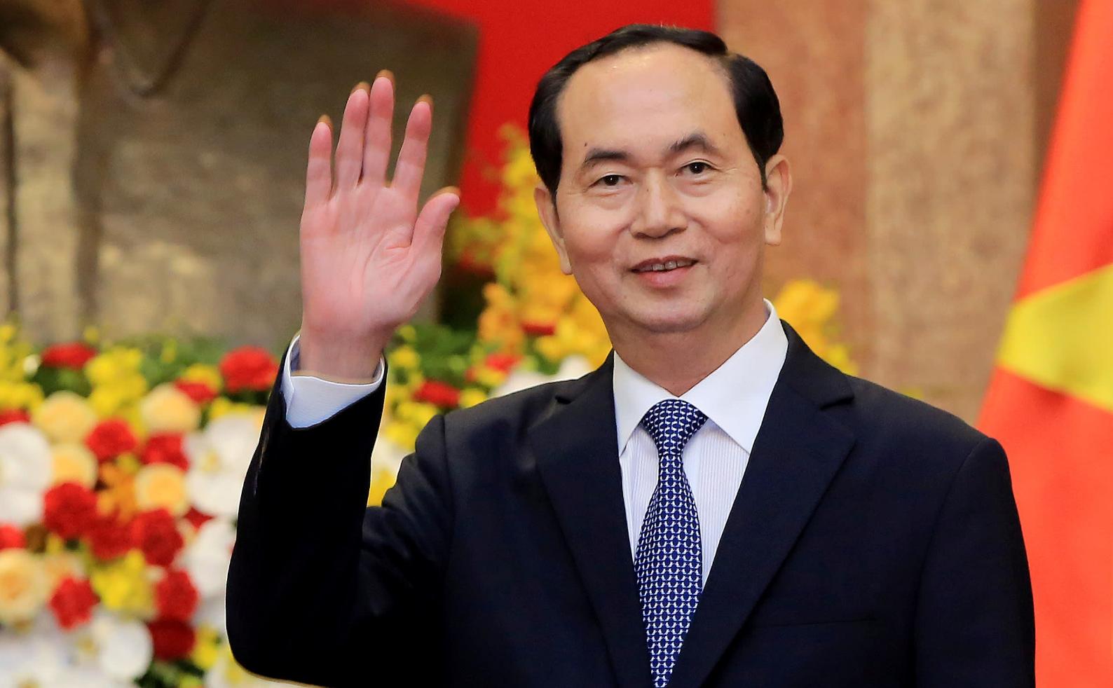 Cơn bão đồn đoán về số phận chủ tịch Trần Đại Quang lên báo Nhật