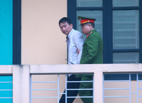 Trịnh Xuân Thanh ngừng kháng án vì có thể được đặc xá
