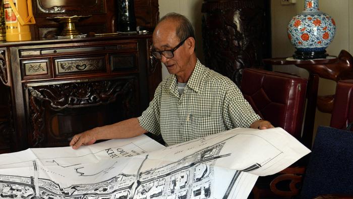 Cựu chủ tịch thành phố Võ Viết Thanh công bố 13 bản đồ Thủ Thiêm