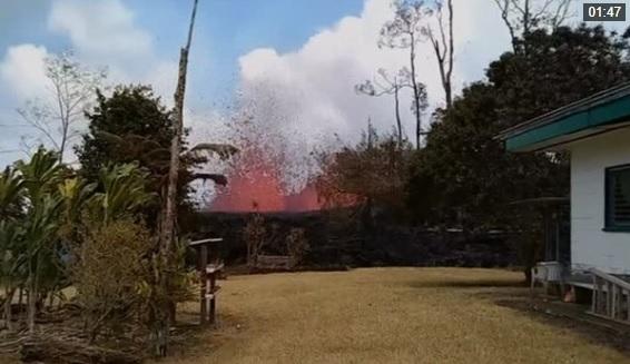 Dung nham núi lửa Kilauea ở Hawaii tiêu hủy khu phố Leilani Estates