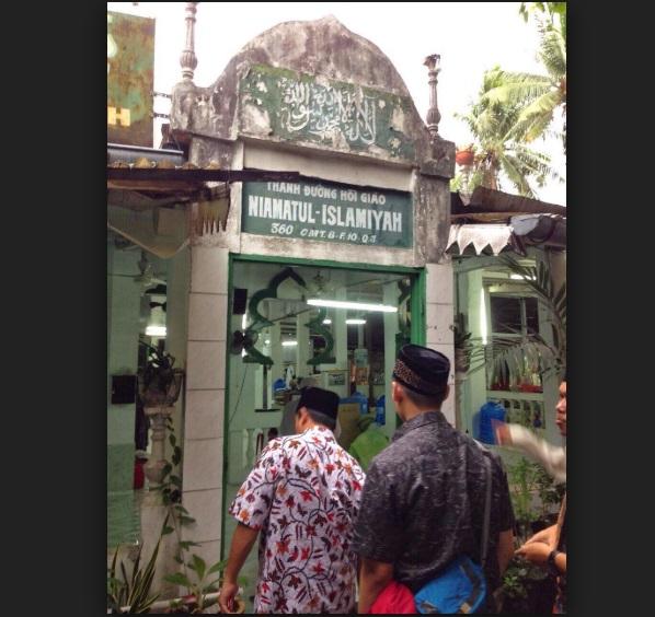 Thánh đường và nghĩa trang Hồi Giáo ở Quận 3, Sài Gòn bị cưỡng chế