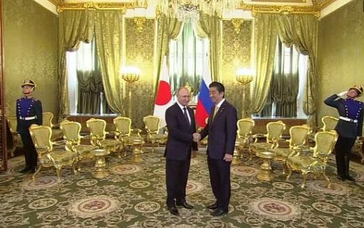 Tổng thống Nga gặp thủ tướng Nhật thảo luận ký kết hiệp ước hoà bình