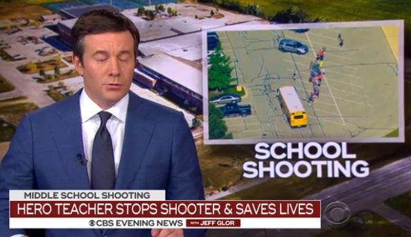 Một giáo viên dũng cảm ngăn chặn một vụ nổ súng tại trường cấp hai ở Indiana