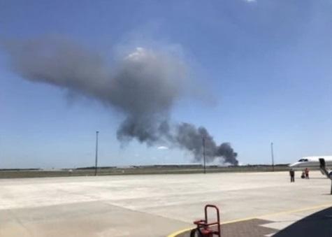 Máy bay quân sự rơi tại Georgia, ít nhất 5 người chết
