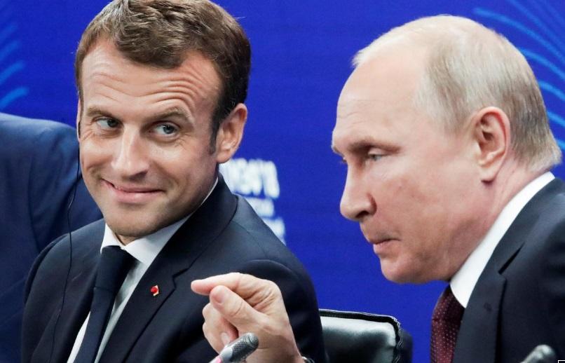Tổng thống Nga, Pháp tìm thấy tiếng nói chung trước các hành động của tổng thống Trump
