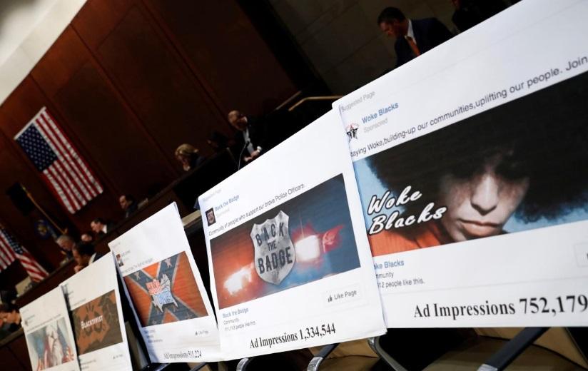 Quốc hội Hoa Kỳ công bố hơn 3,000 quảng cáo trên Facebook được Nga trả tiền