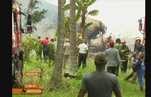 Máy bay chở 104 người rơi tại Cuba