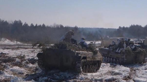 Quân đội Hoa Kỳ huấn luyện binh sĩ Ukraine chống lại với phe ly khai do Nga hậu thuẫn