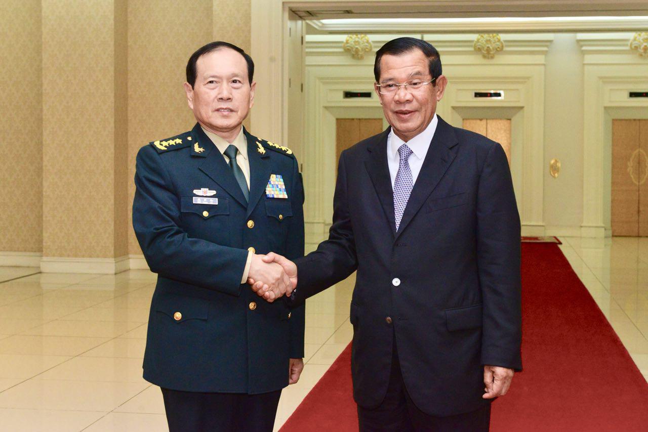 Trung Cộng hứa viện trợ quân sự hơn 100 triệu Mỹ kim cho Cambodia