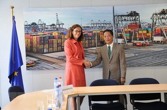 Kết thúc rà soát pháp lý Hiệp Định Thương Mại Tự Do Liên Âu-Việt Nam