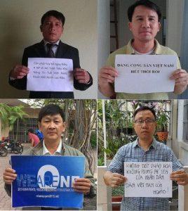 Ân Xá Quốc Tế phản đối việc y án 4 thành viên Hội Anh Em Dân Chủ