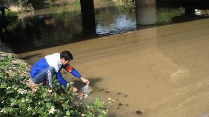 Thanh Hóa cho phép công ty Trung Cộng xả nước thải vào sông Cầu Hạc