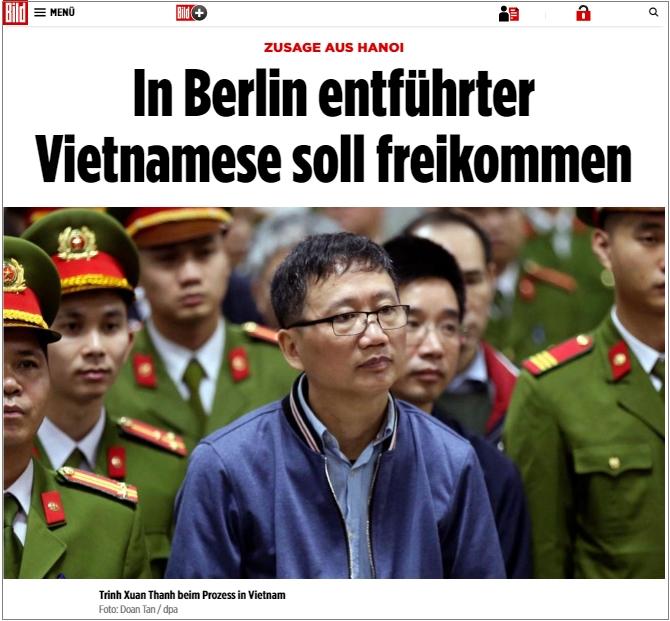 Báo chí Đức: CSVN sắp cho Trịnh Xuân Thanh sang Đức