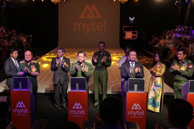 Quân đội Myanmar và Viettel mở liên doanh điện thoại di động