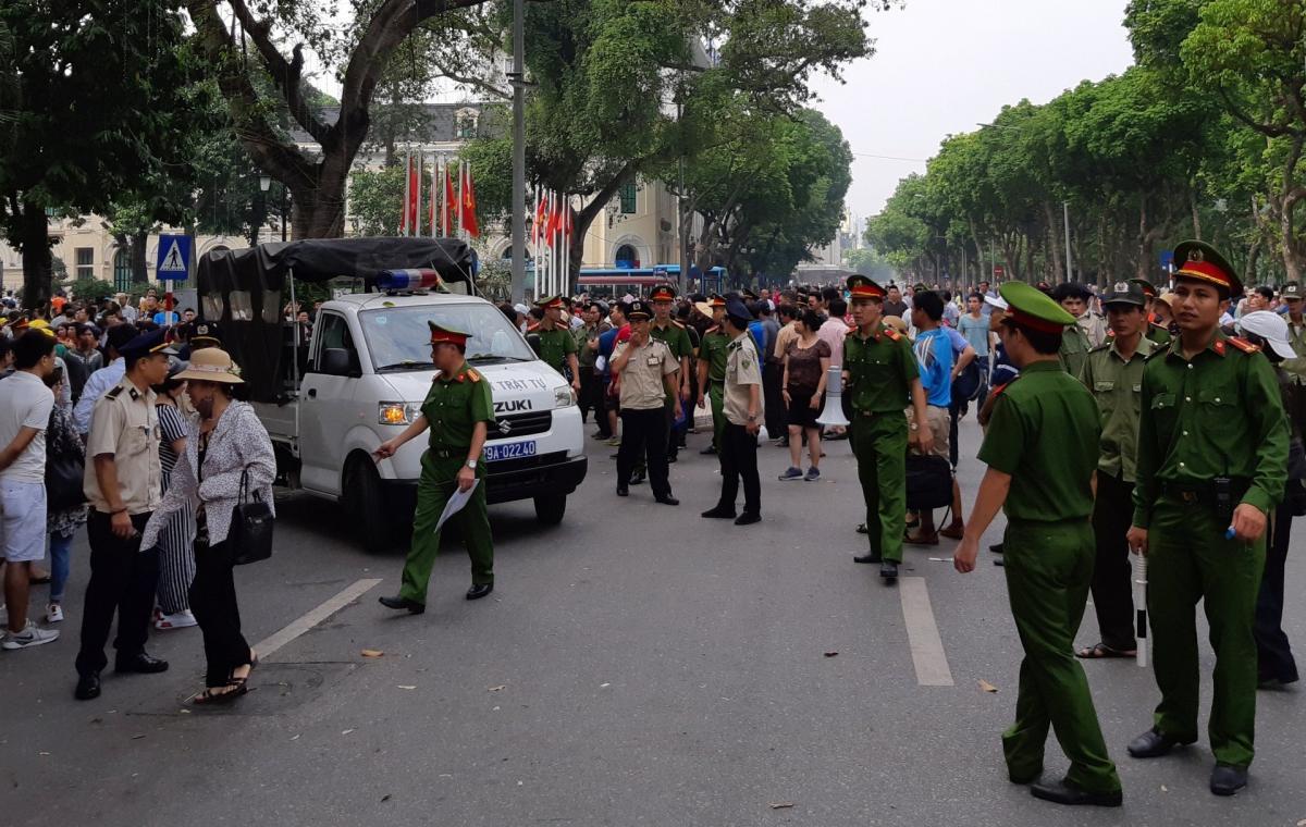 HRW yêu cầu CSVN điều tra phản ứng quá đáng của công an đối với người biểu tình