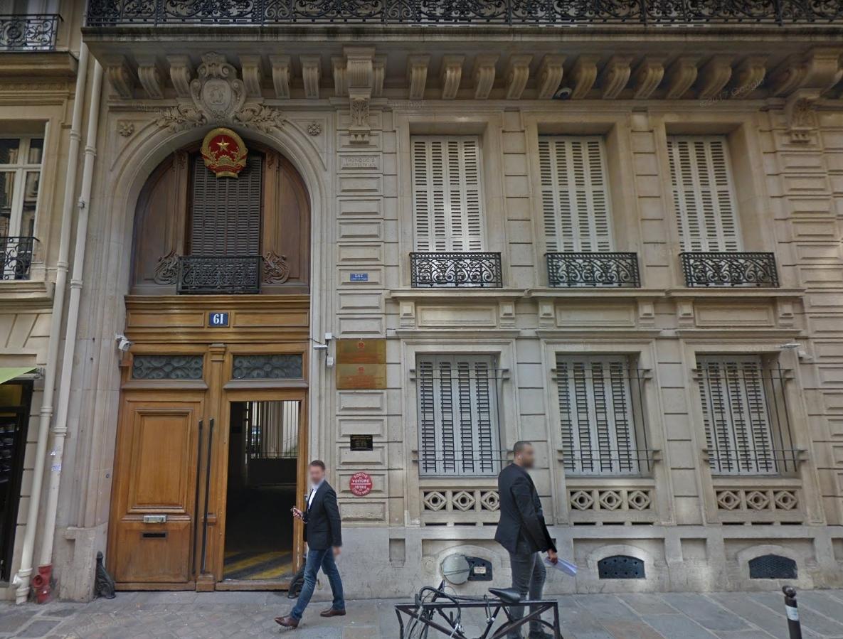 Tòa đại sứ CSVN tại Pháp cũng can dự vụ bắt cóc Trịnh Xuân Thanh
