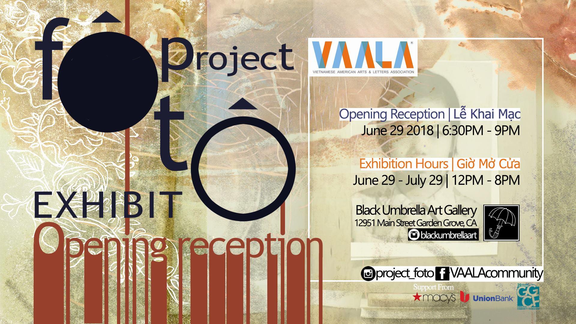 VAALA mở triển lãm cho khoá học Project Fôtô