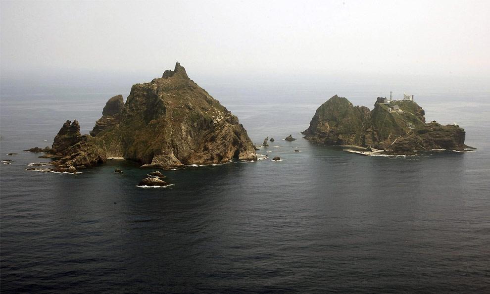 Nhật phản đối Nam Hàn tập trận gần quần đảo tranh chấp