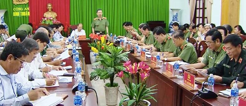 Bộ trưởng công an CSVN vào Bình Thuận giải quyết hậu quả biểu tình