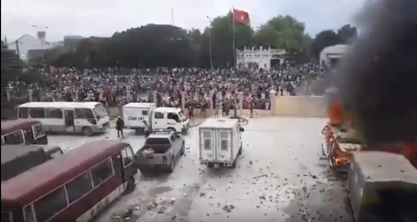 Bình Thuận truy tố 34 người biểu tình