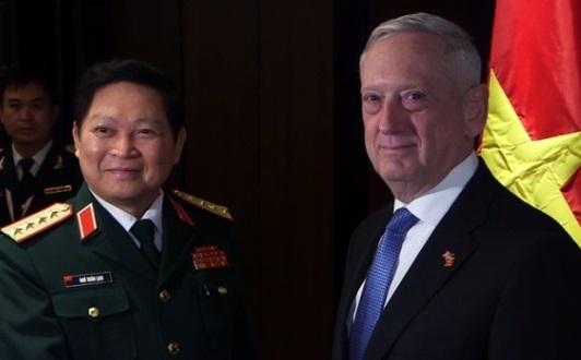 Bộ Trưởng Quốc Phòng Hoa Kỳ trấn an Việt Nam về cam kết đối với an ninh Đông Nam Á