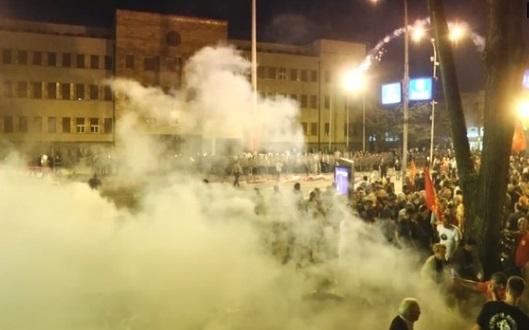 Bạo động nổ ra tại thủ đô Macedonia, phản đối quyết định đổi tên nước