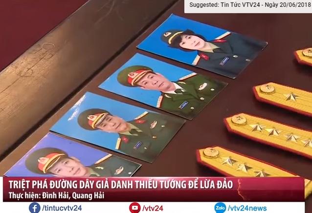 Giả thiếu tướng quân đội CSVN lừa đảo xin việc cho gần ngàn người