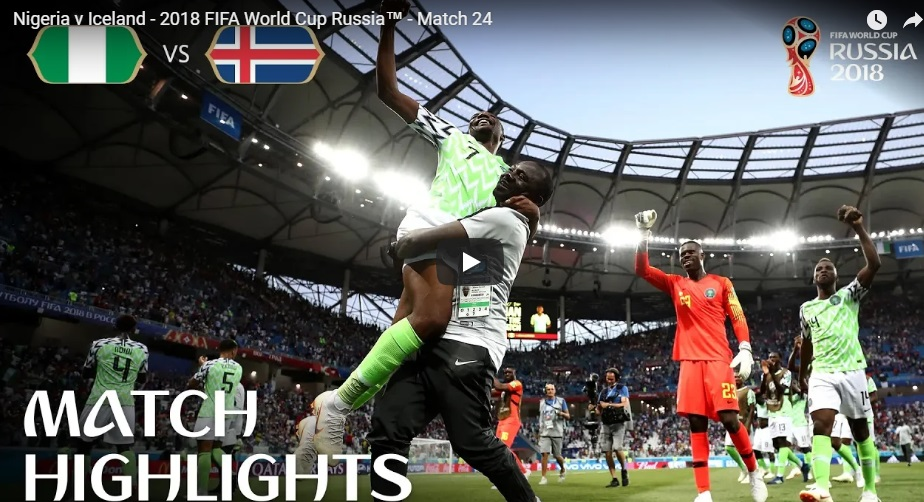Tin nhanh World Cup 2018 ngày 22/06