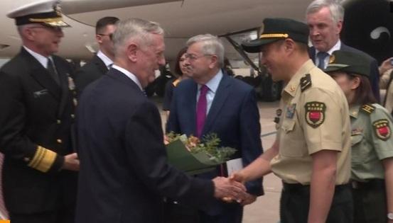 Bộ Trưởng Quốc Phòng Hoa Kỳ và Trung Cộng gặp gỡ tại Bắc Kinh