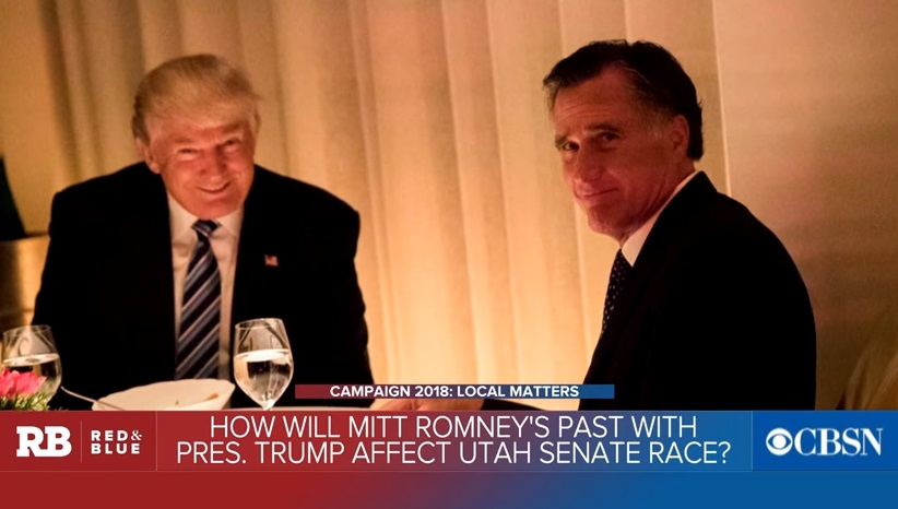 Mitt Romney hạn chế chỉ trích tổng Thống trump trước cuộc bầu cử sơ bộ tại Utah