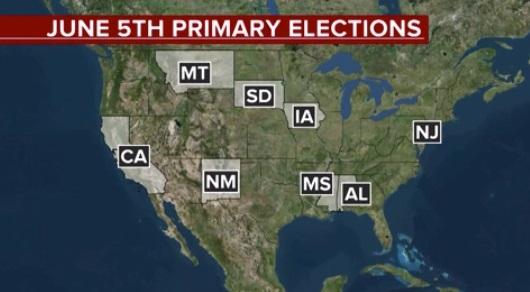 Đảng Dân Chủ vượt qua thử thách trong kỳ bầu cử sơ bộ tại California