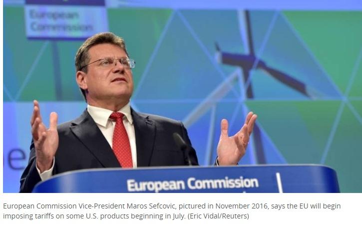 Liên Minh Châu Âu đánh thuế trả đũa Hoa Kỳ