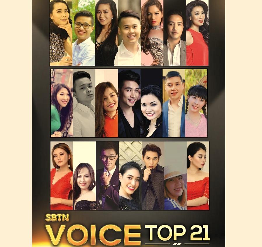 21 thí sinh từ khắp nơi trên thế giới về California để tiếp tục Vòng Bán Kết SBTN VOICE