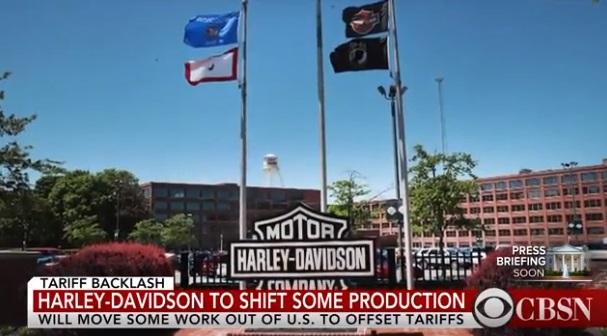 Harley-Davidson đe dọa chuyển nhà máy sản xuất ra ngoại quốc