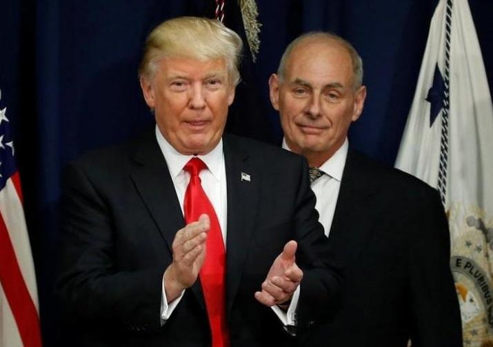 Chánh văn phòng John Kelly chuẩn bị từ chức, tổng thống Trump tìm người kế nhiệm