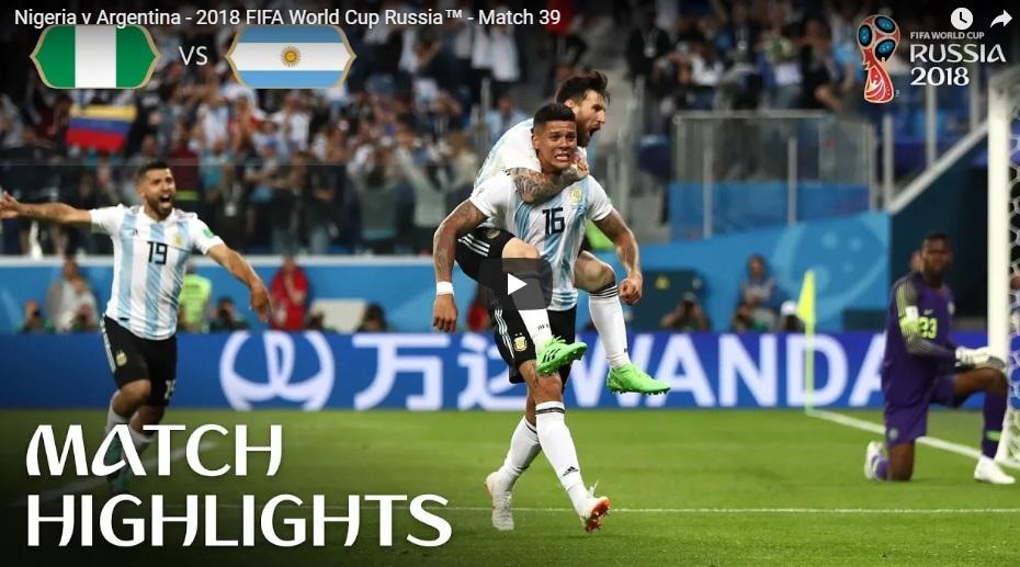 Tin nhanh World Cup 2018 ngày 26/06
