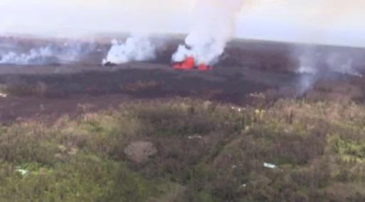 Cư dân trên Big Island Hawaii từ chối di tản bị dung nham bao vây