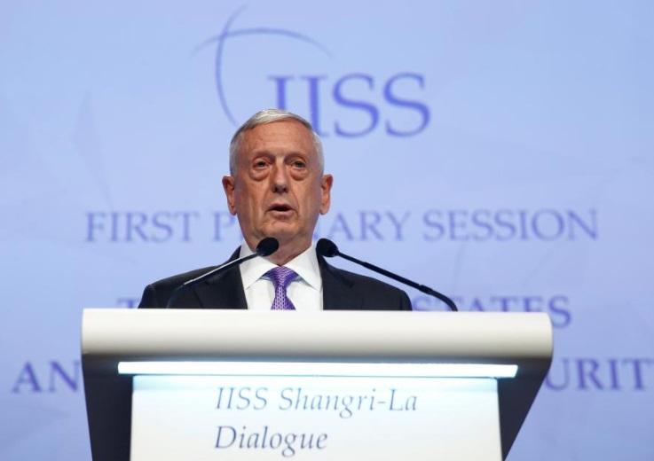 Bộ Trưởng James Mattis khẳng định Hoa Kỳ hiện diện tại Ấn Độ – Thái Bình Dương