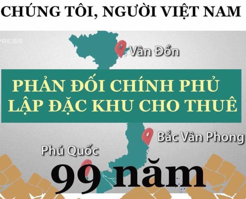 Đặc khu kinh tế 99 năm: dự luật kinh tế không hề có một tính toán về kinh tế (Thiên Điểu -VNTB)