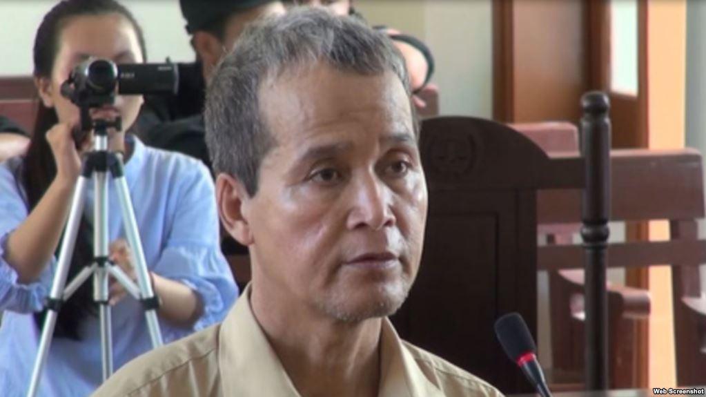 CSVN kết án mục sư Đinh Diêm 16 năm tù vì 'hoạt động nhằm lật đổ chính quyền'