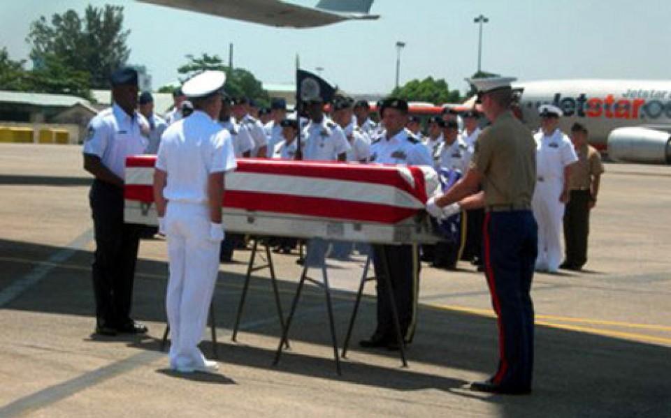 Việt Nam trao trả thêm 2 bộ hài cốt quân nhân Hoa Kỳ