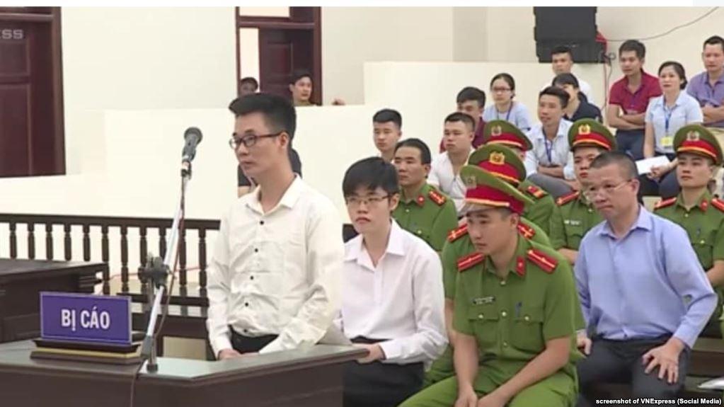 Hoa Kỳ 'thất vọng' về việc y án đối với 3 nhà hoạt động của Phong Trào Chấn Hưng Nước Việt