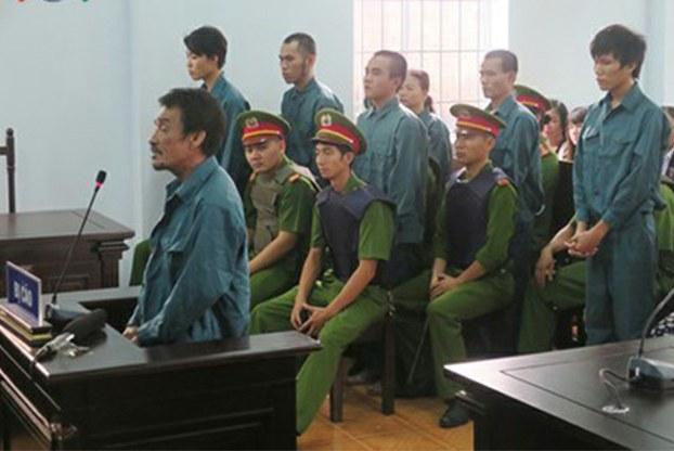 7 người biểu tình ở Bình Thuận bị kết án tù