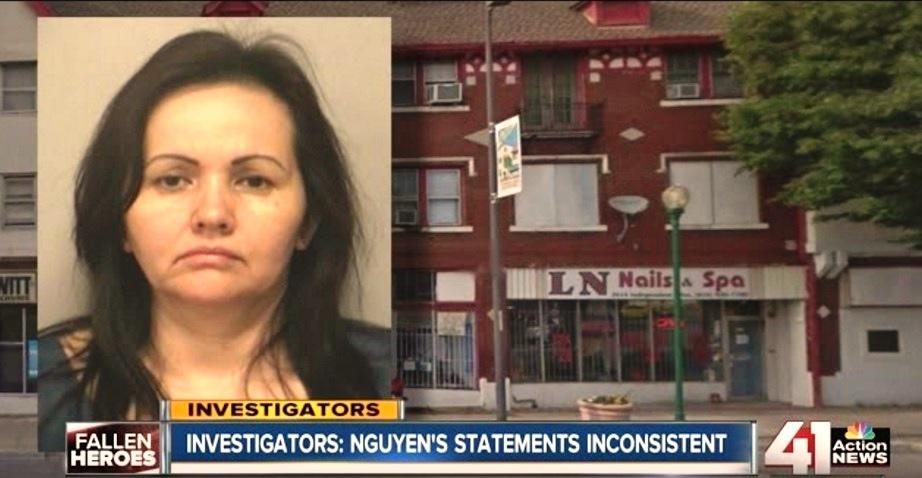 Nhân viên tiệm nail gốc Việt ra tòa vì vụ cháy khiến 2 lính cứu hỏa thiệt mạng ở Kansas City