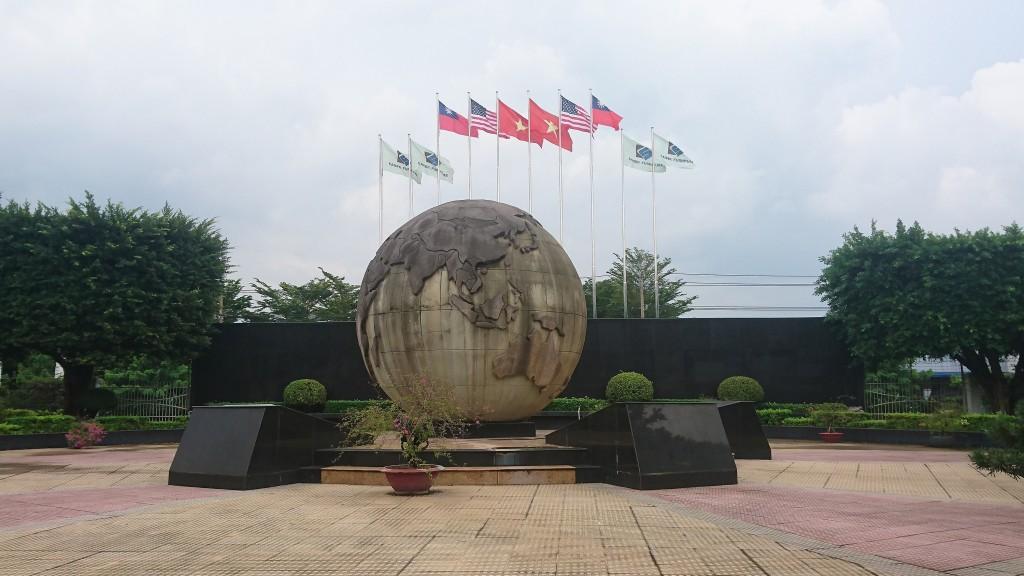 Công ty Đài Loan ở Bình Dương được treo cờ Đài Loan nhờ người Việt biểu tình